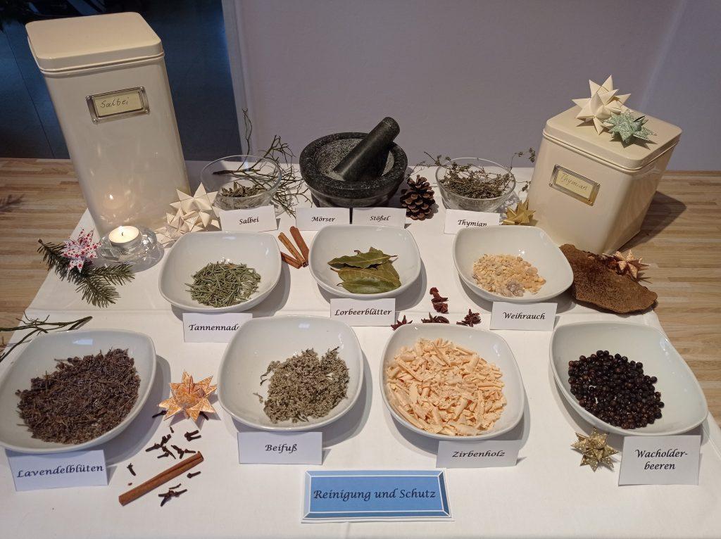 Kräutermischung Reinigung und Schutz